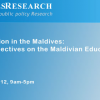 """Improving Education in the Maldives: Stakeholder Perspectives on the Maldivian Education Sector"""