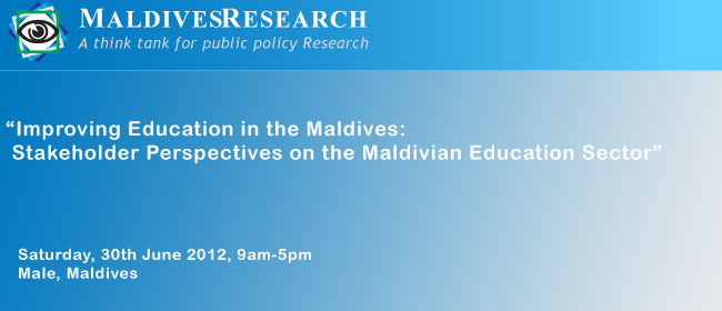 MaldivesResearch Workshop - June2012