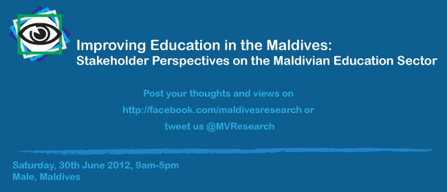 Maldives Education Forum June 2012